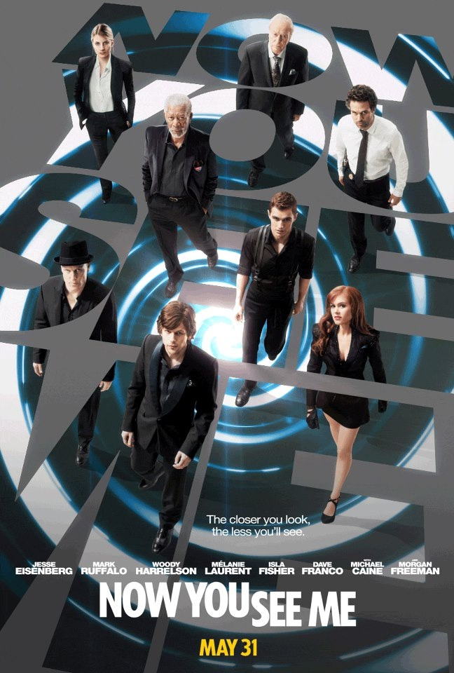 Now You See Me-Best Movies About Magic/magicians
