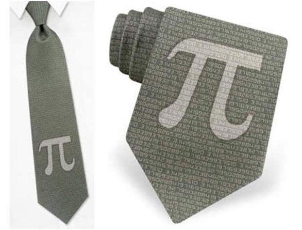 Pi Tie!-Geekiest Ties