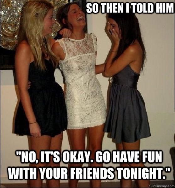 Don't believe it!!-Best Vindictive Girls Meme