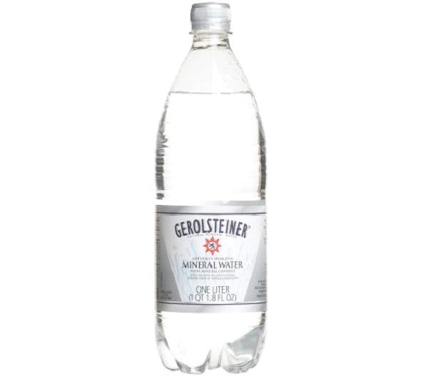 Gerolsteiner Mineral Water-Best Bottled Water To Drink