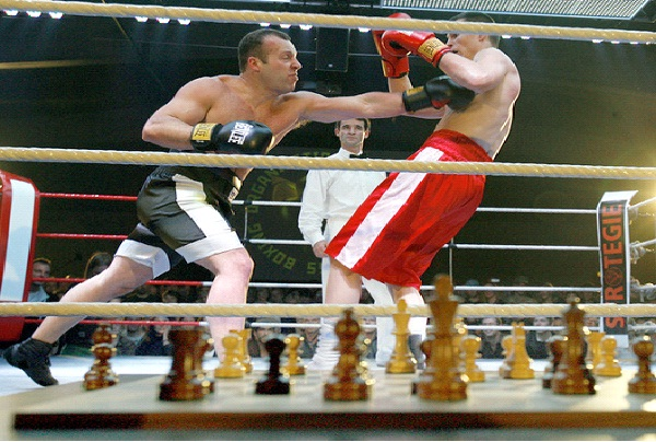 Chess Boxing-Weirdest Competitions Around The World