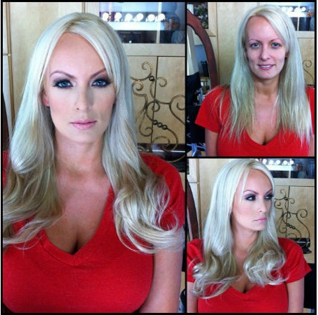 Stormy Daniels-Pornstars With And Without Make Up