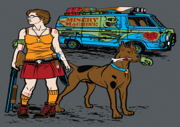 Scooby Doo-Bad Versions Of Popular Cartoon Characters