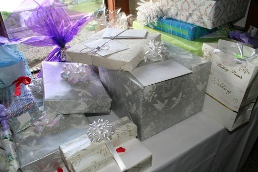 My gift is not that impressive-Things You Think About At A Wedding