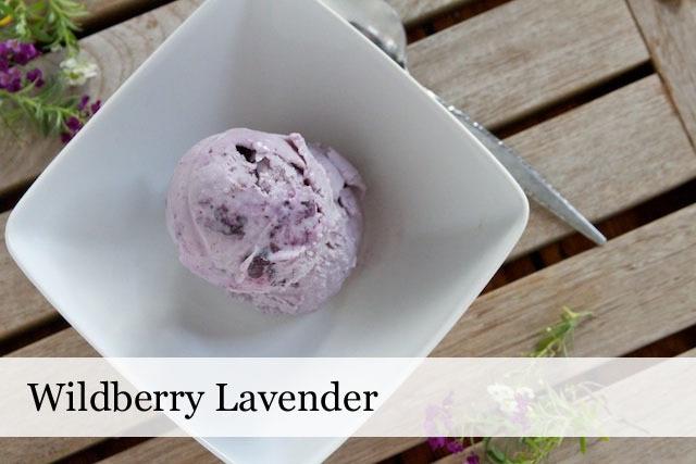 Wildberry Lavender-Bizarre Ice Cream Flavors