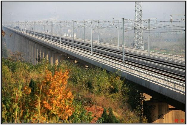 Weinan Weihe Grand Bridge-Longest Bridges In The World