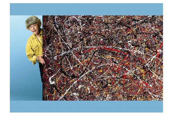 Jackson Pollock Painting-Underestimated Items That Turned Out To Be Worth A Fortune