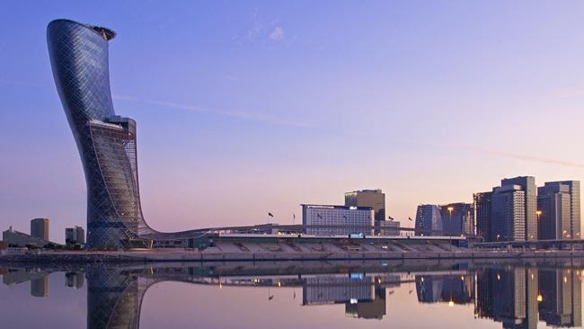 Capital Gate, Abu Dhabi-World's Craziest Buildings
