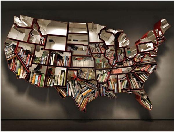 USA Bookshelf-Coolest Bookshelves