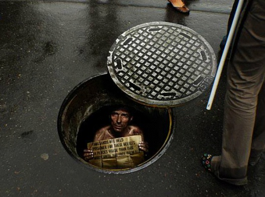 Amnesty International-Most Creative Street Ads