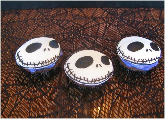 Jack Skeleton-Halloween Cupcakes