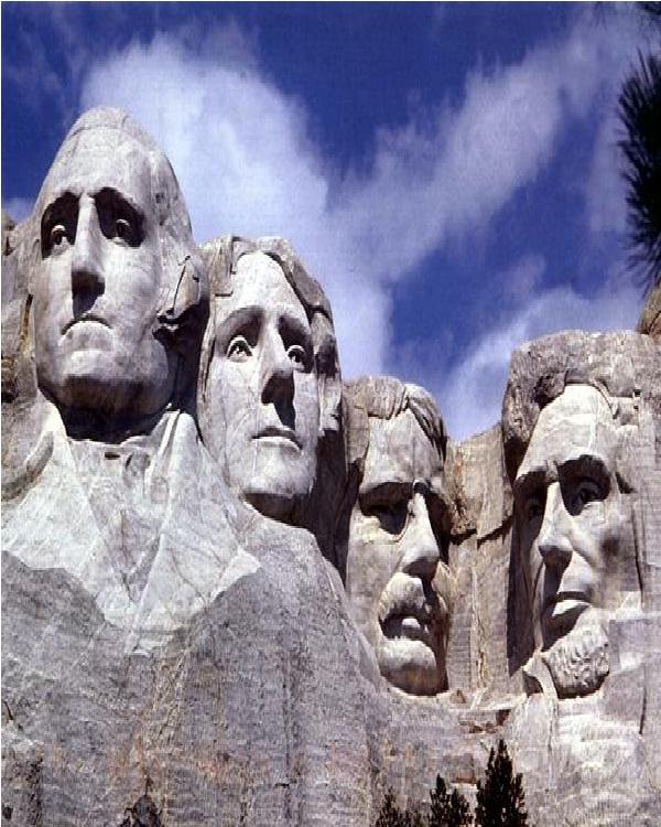 Mount Rushmore-Amazing Mountain Carvings
