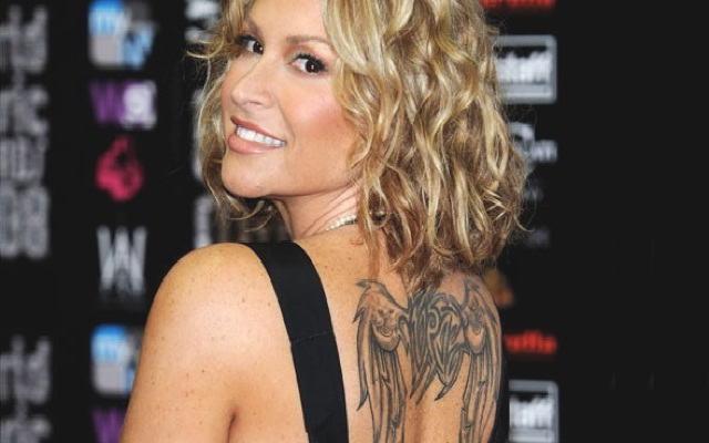 Anastacia-Best Celebrity Tattoos