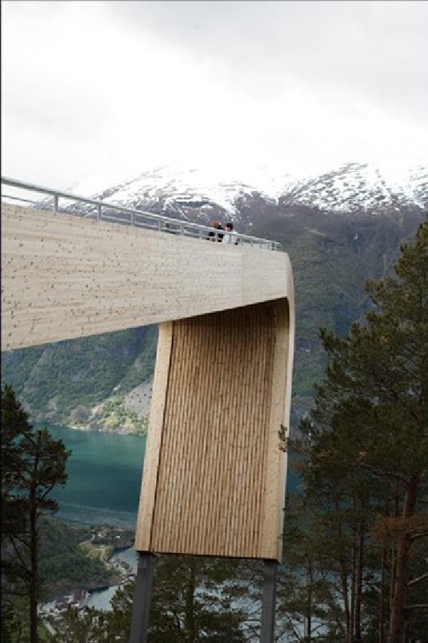 Aurland-Breathtaking Viewing Platforms Around The World