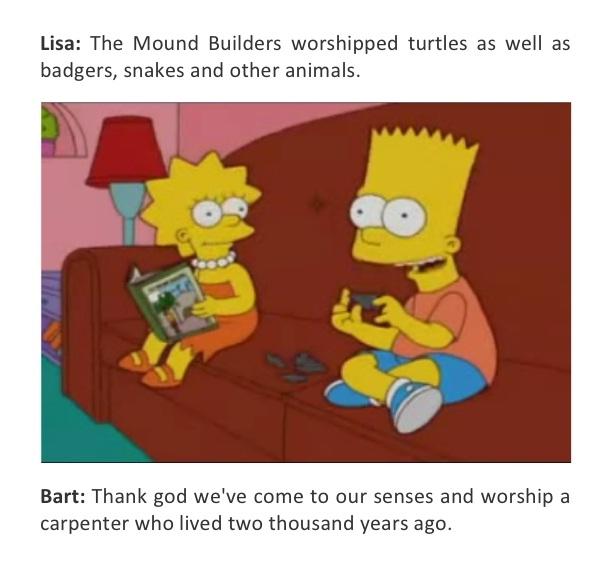 Religion-Best Simpsons Quotes