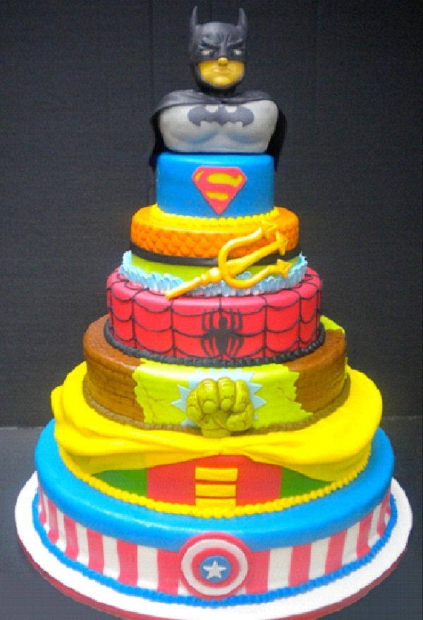 Superheroes-Most Geeky Cakes