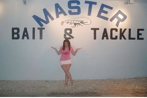 Master Bait & Tackle-Most Inappropriate Store Names