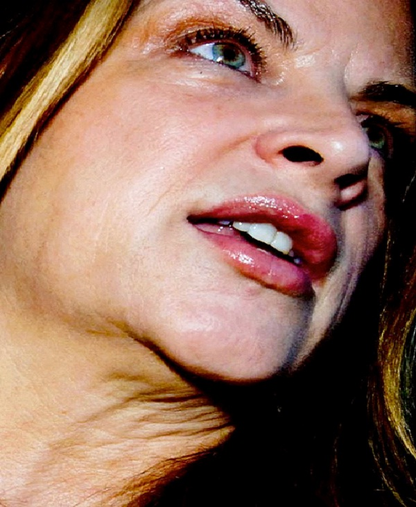 Kirstie Alley-Weird Celebrity Closeups