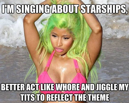 Because starships are like that-Worst Rap Logic