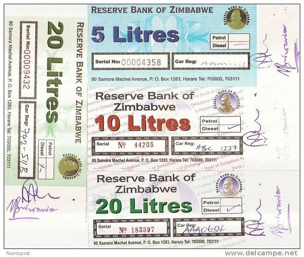 Zimbabwe fuel coupons-Weird Alternative Currencies