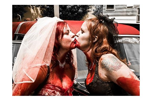 Same sex Engagements-Zombie Engagements