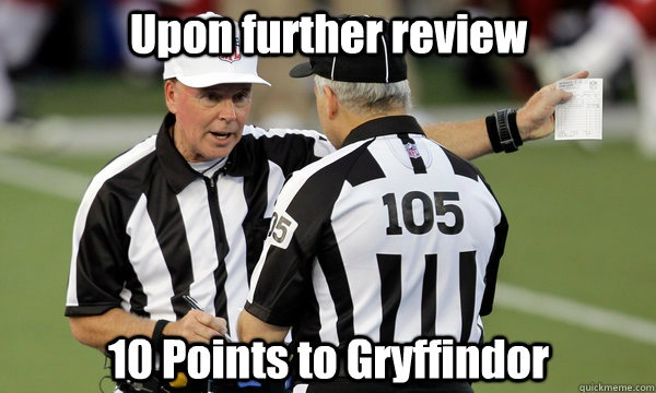 A good review-'10 Points For Gryffindor' Memes