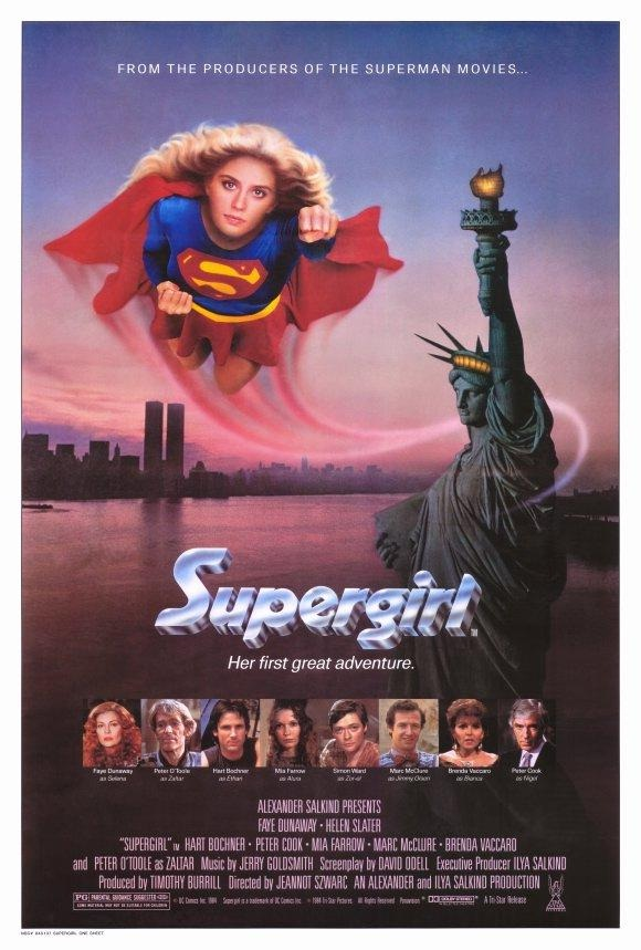 Supergirl-Superhero Movies That Disappointed Us