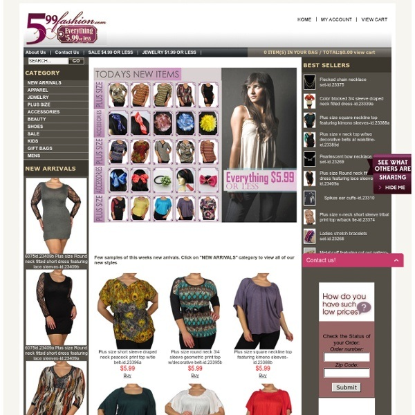 599fashion.com-Cheap Clothing Websites For Women