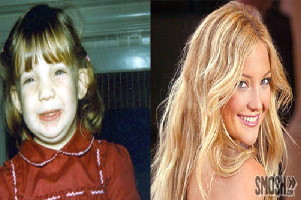 Kate Hudson-12 Celebrities Who Looked Ugly When They Were Kids