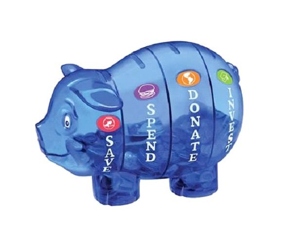 Plastic Porky Pig-Cool Piggy Banks