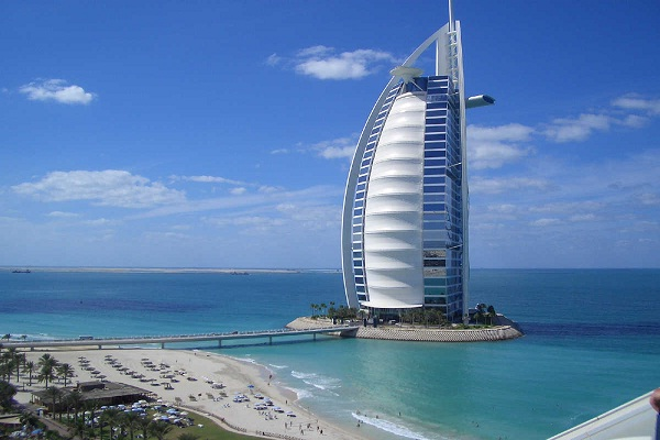 Burj al Arab, Dubai-Most Famous Hotels Around The World