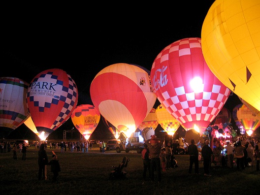 Hot Air Balloon Racing-Most Expensive Sports In The World