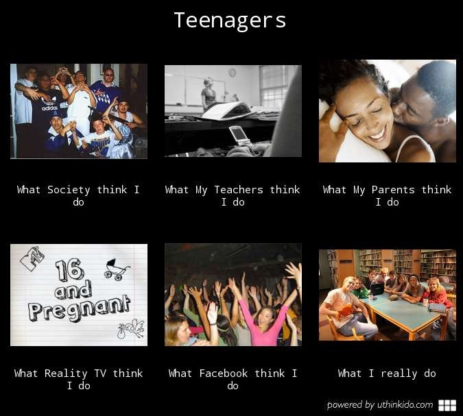 The fickle world of teenagers-Teenage Girls Be Like..
