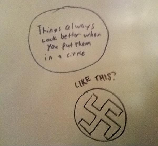 Questionable-Funniest Toilet Graffiti
