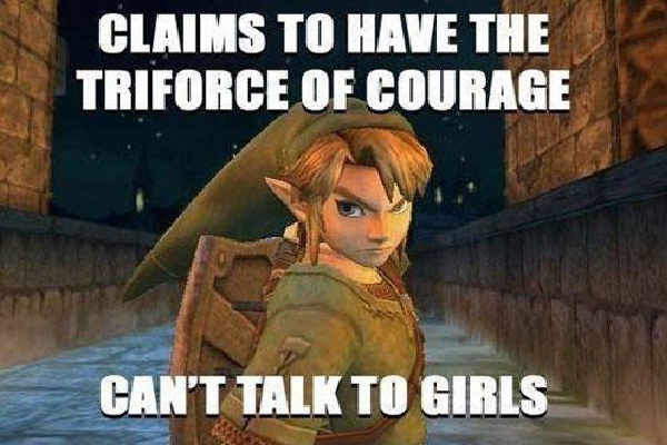 Courage, but shy?-Worst Video Game Logic