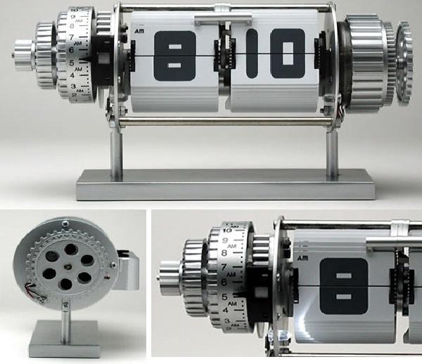 Open gears-Cool Alarm Clocks