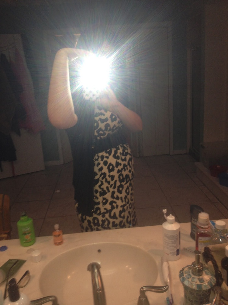 Erm we can't see you-Worst Mirror Selfies Ever