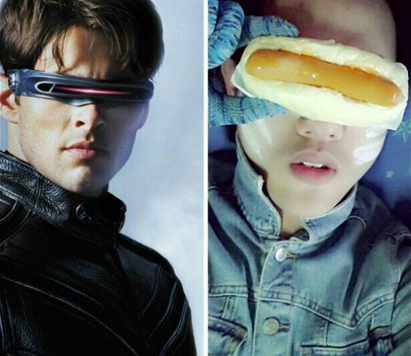 The hot dog seals it-12 Cheap Yet Funny Cosplays Ever