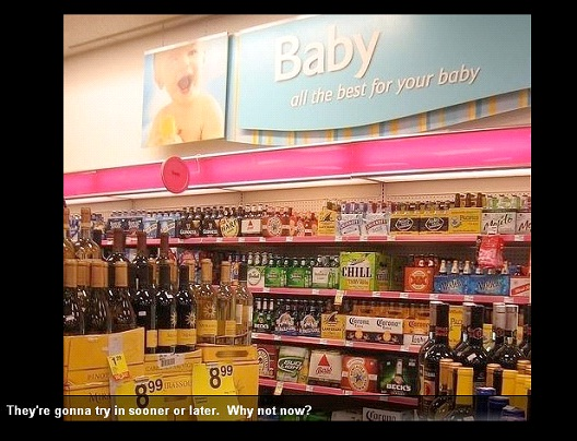 Baby Liquor-Best Supermarket Fails