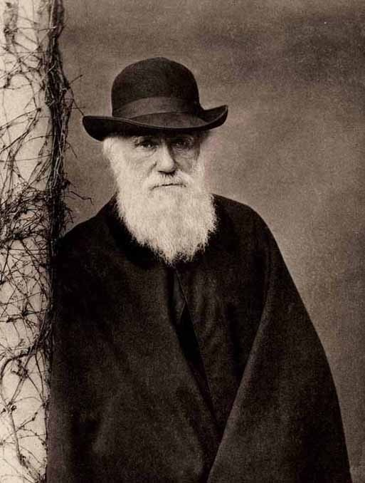 Charles Darwin-Autistic People Who Got Famous