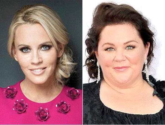 Melissa McCarthy & Jenny McCarthy-12 Celebrity Cousins You Probably Didn't Know About