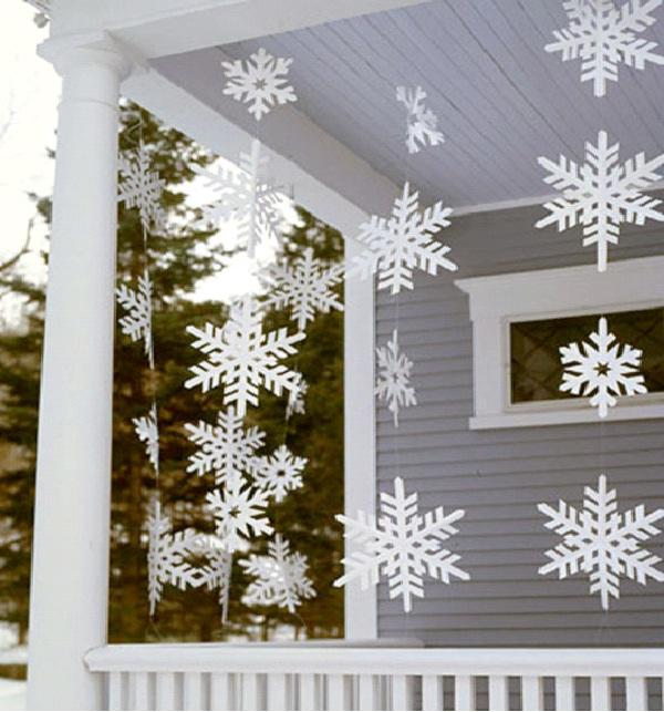 Snow Flakes-Christmas Decoration Ideas