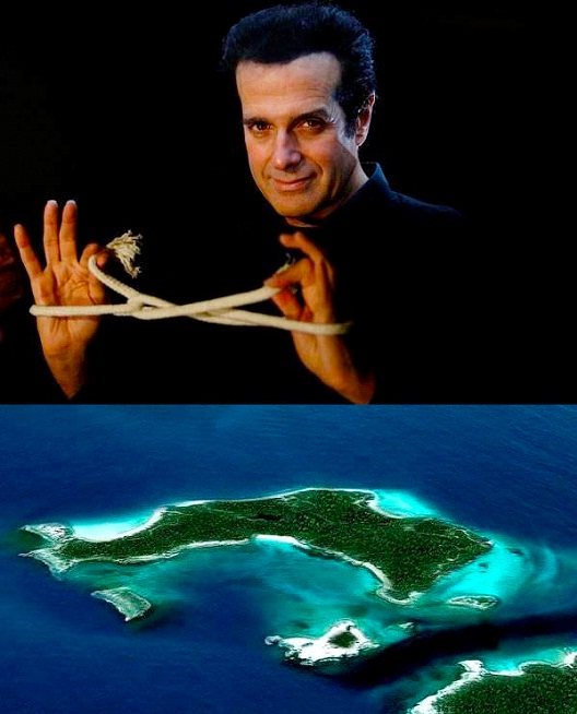 David Copperfield-Celebrities Who Own A Private Island