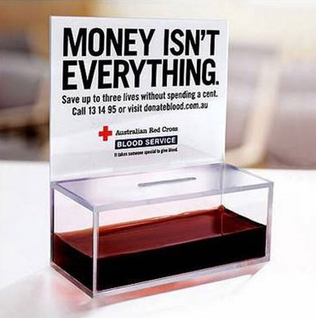 It is bought and sold-Things You Didn't Know About Donating Blood