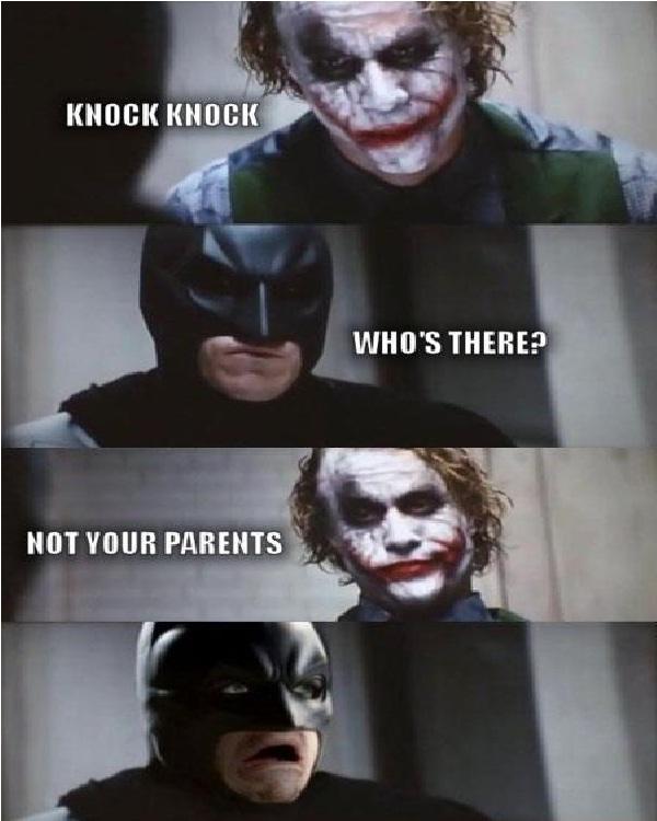 Knock knock-Best Joker Memes