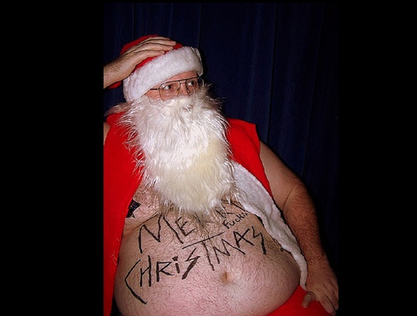 Grumpy Santa-Hilarious Santa Claus Fails