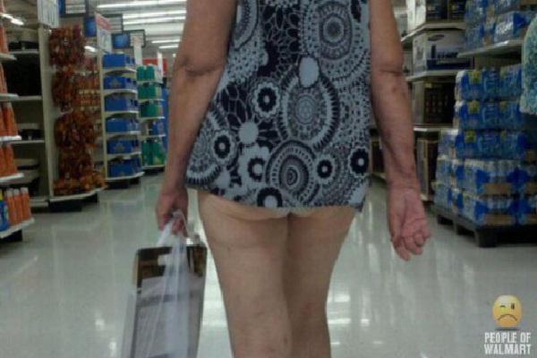 Who Needs Pants At Walmart?-Strangest People Of Walmart