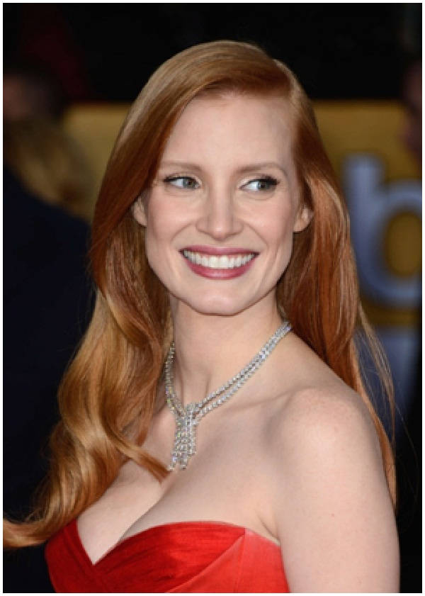 Jessica Chastain-12 Celebrities You Probably Don't Know Are Vegans