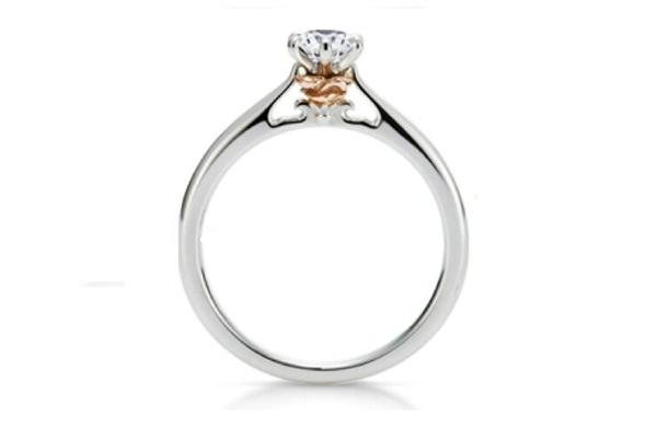 Belle's Enchanted Rose-Disney Engagement Rings