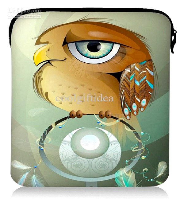 Owl Case-Coolest Laptop Sleeves And Bags